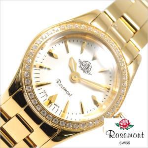 ロゼモン 腕時計 Rosemont 時計 ハイブリッドティーローズ RS-22-01MTYG レディース hstyle