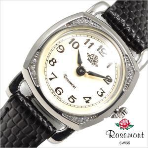 ロゼモン 腕時計 Rosemont 時計 ミニチュアローズ RS-29-03BK レディース hstyle