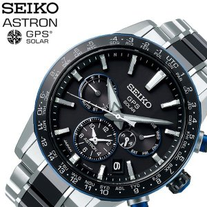 セイコー 腕時計 SEIKO 時計 アストロン Astron メンズ 腕時計 ブラック SBXC027|hstyle
