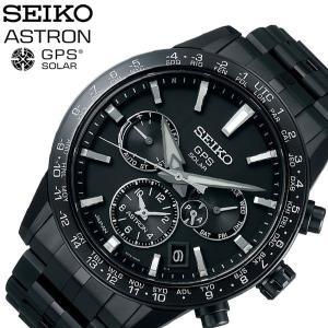 セイコー 腕時計 SEIKO 時計 アストロン Astron メンズ 腕時計 ブラック SBXC037|hstyle