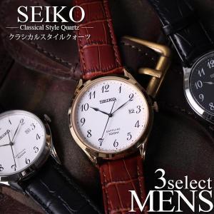 フォーマル スタイル セイコー 腕時計 SEIKO 時計 海外モデル レア メンズ 仕事 お父さん ...