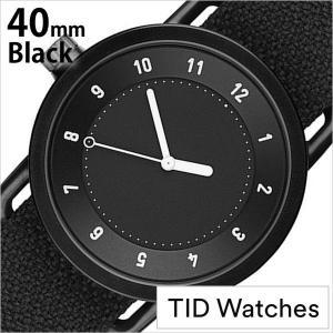 ティッド ウォッチズ 腕時計 TIDWatches 時計 クヴァドラ Kvadrat メンズ レディース 腕時計 ブラック TID01-BK40-COAL|hstyle