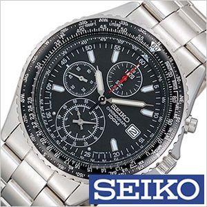 セイコー SEIKO 腕時計 パイロット・クロノグラフ メンズ時計 SND253PC セール|hstyle