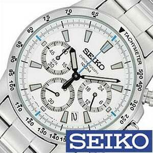 セイコー 腕時計 SEIKO クロノグラフ SSB025PC メンズ セール|hstyle