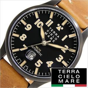 テッラ チェロ マーレ 腕時計 TERRA CIELO MARE 時計 アヴィアトーレ マーク ツー TC7103PVD3PA メンズ hstyle