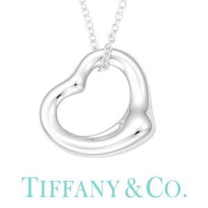 オープンハート ティファニー ネックレス Tiffany&co ジュエリー エルサ・ペレッティ Elsa Peretti レディース 10660092|hstyle