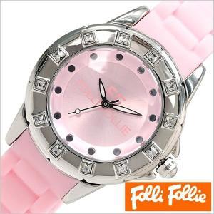 フォリフォリ 腕時計 FolliFollie 時計 WF8A024ZPPI レディース|hstyle