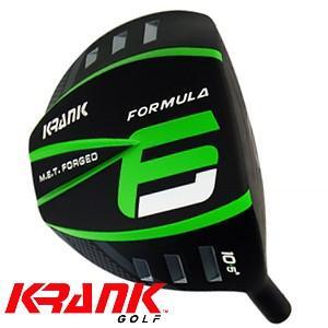 KRANK GOLF クランクゴルフ  Formula6 LD フォーミュラ6 ドライバー ヘッド単体 ロフト角4〜10.5度