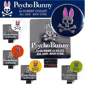 即納 Psycho Bunny サイコバニー PB ゴルフマーカー PBMG6SM1 ボールマーカー2016年モデル