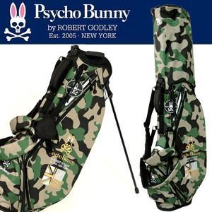 Psycho Bunny サイコバニー 2017年モデル スタンドバッグ PBMG7SC4 PB CAMO  カモフラージュ 迷彩柄