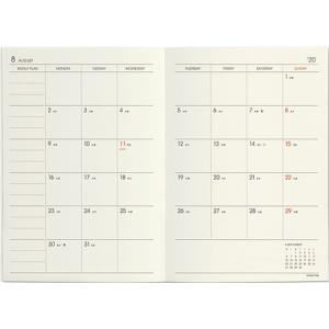 ハイタイド 手帳 2020年 (2019年10月始まり) レプレ (A6 ブロック ウィークリー) htdd 06