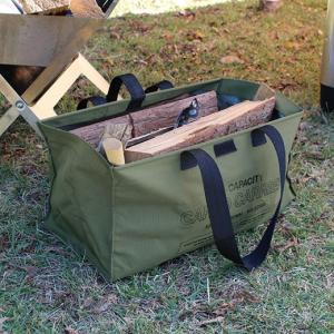 道具を持ち運ぶための頑丈なキャリーバッグ。開口部にはバー内蔵でコーティングによるハリもあり、しっかり...