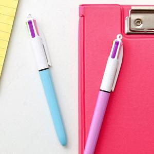 フランスの筆記具メーカーBIC(ビック)社の定番中の定番ともいえる4色ボールペン。春らしいパステルカ...