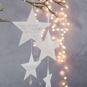 ドイツrader(レーダー) 社の星の形をしたオーナメントです。縦に連なっているのでツリーだけでなく...