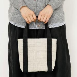 HIGHTIDE / トートバッグ / 中川政七商店 手織り麻のトート小の商品画像|ナビ