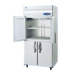 【新品・送料無料・代引不可】ホシザキ 業務用冷蔵庫 [ 薄型・ワイドスルー ] HR-90ZT-ML(旧HR-90XT-ML) [W900×D650×H1890mm]|htsy