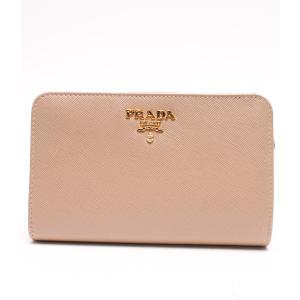 d488159199e7 美品 プラダ 財布 サフィアーノレザー レザー 1M1225 PRADA レディース 中古