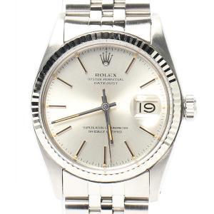 ロレックス 腕時計 デイトジャスト 自動巻き シルバー 16014 メンズ ROLEX 中古