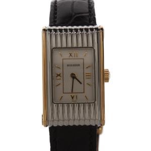 ブシュロン 腕時計 リフレ クォーツ ホワイト 0653061 レディース BOUCHERON 中古