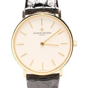 ヴァシュロンコンスタンタン 腕時計 手動巻き ホワイト メン...