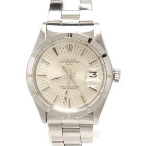 ロレックス 腕時計 オイスターパーペチュアルデイト 自動巻き シルバー 1501 メンズ ROLEX...