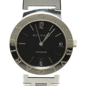 訳あり ブルガリ 腕時計 ブルガリ・ブルガリ 自動巻き ブラック BB33SS メンズ Bvlgar...