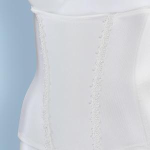 ブライダルインナー 3点セット ブラジャー&ウエストニッパー&フレアパンツ(シンプルリュクス)/ブライダル インナー セット 安い 背中の開き ドレス|hugge|14