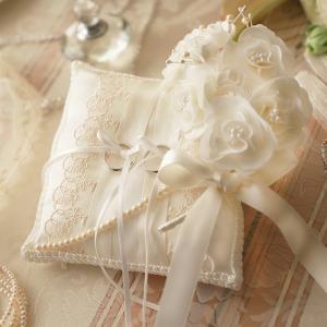 リングピロー モッコウバラ 手作りキット ウェディング 結婚式 hugge