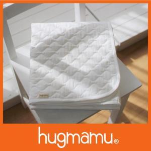 はぐまむ 敷きパッド 脱脂綿 日本製  ホワイト 保育園 70×120|hugmamu2