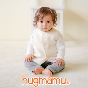はぐまむ 綿毛布 スリーパー 新生児 ベビー ベスト 無添加 日本製 三河木綿 着る毛布 赤ちゃん 子供 秋 冬|hugmamu2