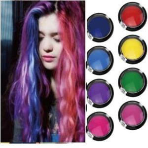 再入荷 メール便可  8色展開 カラー豊富なヘアチョーク  パレットタイプの手が汚れにくいタイプ! ...