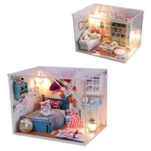ミニチュア ドールハウス キット マリン 春 夏 キャンプ 女の子 男の子 DIY DIYキット ハンドメイド 家具 模型 980327