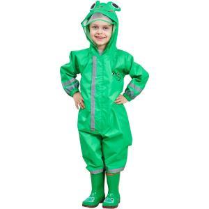 子供レインコートキッズ雨具 キッズレインコート、男の子と女の子のためのフローラルレインスーツレインジャケット子供のポンチョ子供の防水コート子|huratto