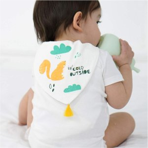 Parentswell 赤ちゃん 汗取りパット ベビー 5重ガーせ 綿100% 男の子 女の子 5枚セット huratto