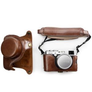 kinokoo 富士フイルム FUJIFILM X100F / X100S / X100T / X100対応カメラケース カメラバッグ 三脚|huratto