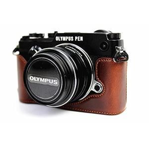 Olympus オリンパス PEN PEN-F PENF PEN F カメラ バッグ カメラ ケース 、Koowl手作りトップクラスのPUレ|huratto