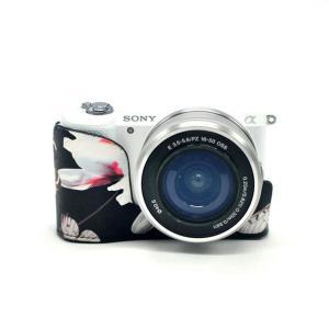 Sony ソニー a6000 a6300カメラケース カメラバッグ カメラカバー カメラポーチ PUレザー 軽量 おしゃれ 防水 防振 カメ|huratto