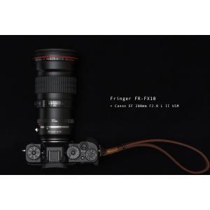 Fringer FR-FX10 電子マウントアダプター(キヤノンEFマウントレンズ → フジフイルム...