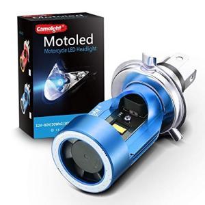 Camelight最新モデル 青色光付き CCFLバイク用LEDヘッドライトH4 / HS1 Hi/...