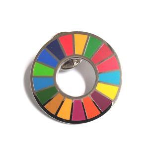 SDGs ピンバッジ 最新仕様 国連本部限定販売 日本未発売