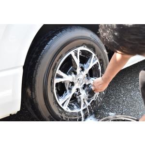 TARO WORKS ムートン洗車グローブ ホイール リム 用GENUINE LEATHER シープスキンミット 洗車傷防止 欧米欧州市場向|huratto