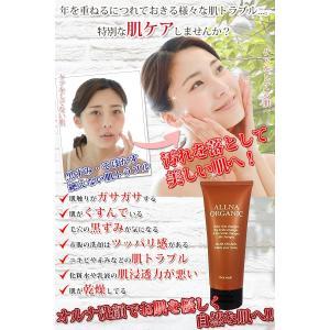 オルナ オーガニック 洗顔 洗顔フォーム 「 泡立つ ボタニカル 洗顔料 」「 合成着色料 合成香料 無添加 」100g|huratto