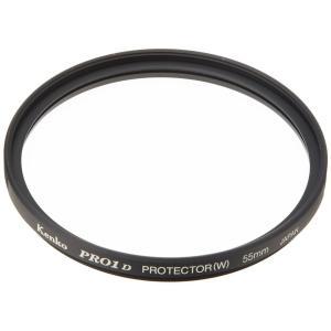 Kenko 55mm ケンコー PRO1Dプロテクター(W)アウトレット化粧箱無し 黒枠