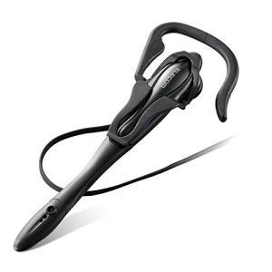 エレコム ヘッドセット マイク 4極 片耳 イヤフック 1.8m HS-EP13TBK