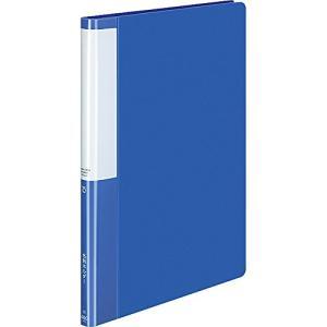 コクヨ ファイル 名刺ホルダー POSITY A4 縦 400名 ブルー P3メイ-745B