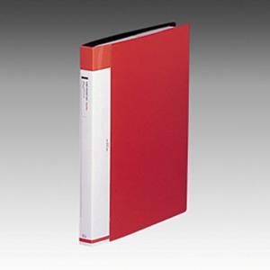 リヒトラブ 名刺ファイル 交換式 A4 30穴 540枚 赤 G8812-3