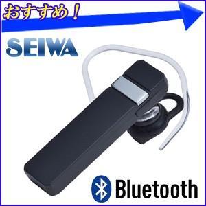 Bluetoothハンズフリーイヤホンマイク ME5UD BT700 ブラック セイワ SEIWA 両耳対応 ブルートゥース イヤホン ハンズフリーセット ハンズフリー 通話 音楽|hurry-up