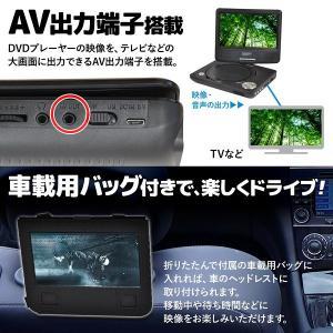 DVDプレーヤー 本体 ポータブル 車載 車 ...の詳細画像4