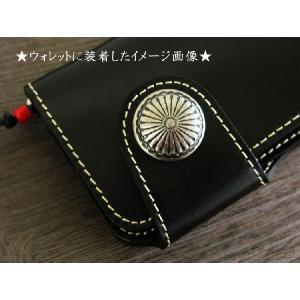 菊柄コンチョ/コイン/ボタンネジセット|hushop|02