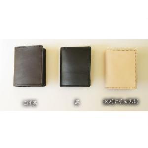財布 2つ折り財布 メンズ 本物のこだわり最上級牛革財布二つ折り財布 ;K2S- 日本製|hushop|03